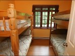 Bedroom with 2 Bunk Beds