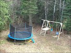 Kids Love the Playground with Trampoline