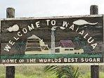 Waialua Town 10min drive