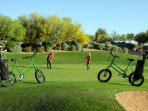 Kierland commons golf is very close by- within a few minutes!