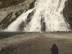 Nugget falls at Mendenhall Glacier