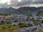View of Blaenau Ffestiniog from Summerhill.