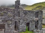 Ruins at Cwmorthin.