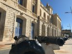 The National maritime museums famous cannons