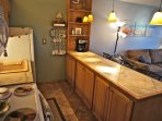 Enjoy cooking in a gorgeous, remodeled kitchen