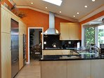 Modern kitchen with Viking appliances