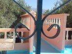 Entrée et terrasse maison Azur Tafraout