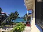 Hideaway - Waterfront living 2BDR/AC Furnished Located at the northern edge of Grand Anse beach.