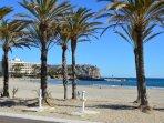 Javea blue flag Arenal Beach