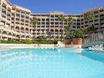 Résidence Palme d'Azur et ses piscines