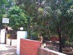 Entrance to the Mango Villa