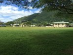 Lovely Manoa Valley District Park, just beyond our backyard. Public pool, tennis, basketball courts