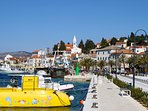 Town Rogoznica, 15 min walking near the sea from the apartment
