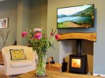 Newly Renovated with Log Burner and Smart TV