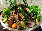 our sea food preparation