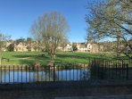 The property has a beautiful view from the rear over Stamford Meadows