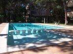piscina y zona comunitaria