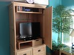 Flat Screen TV with DVD and WiFi!