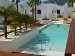 Apartamento a pie de playa en Macenas