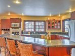 The chef of the group will delight in the fully-equipped kitchen, complete with stainless steel appliances and...