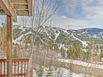 Enjoy unrivaled views of Whitefish Mountain Resort and endless forests when you stay at this amazing vacation rental...