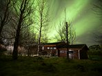 It´s possible to see northen lights from late august to late april.