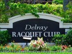 Delray Racquet Club is a resort style community in Delray Beach