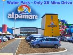 Water Park ONLY 25 mins drive from The Oyster Cottage