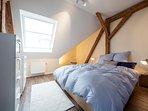 Schlafzimmer Ferienwohnug Ludgerushof Bocholt
