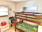 Bunk beds in kids' room
