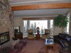 Great Room with 50' HDTV