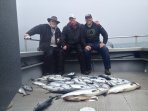 We offer silver salmon charters from our facility