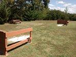 Horse show pit