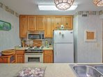 The chef of the group will look forward to whipping up delicious home-cooked meals in the fully equipped kitchen.