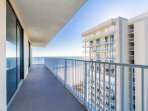 Wrap around balcony - access from every bedroom