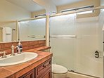 This home has 3 bathrooms for guests to use throughout their stay.