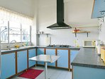Fully equipped kitchen is common for all the rooms.