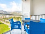 Apartment Smart - balcony with mountain view