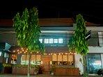 Sangsaka restaurant (number 1 on Tripadvisor) is just a 3 minute walk from the villa
