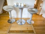 Stylish breakfast table
