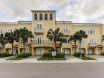 Paradise Cove is a Mediteranean Style 9 unit HOA located in Clearwater Beach on the ICW Waterway