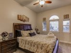 Nautical Room with Queen Size Bed with storage, 40' HD SmartTV and Full Bath