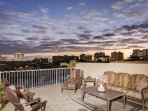 Private Rooftop Terrace for entertaining