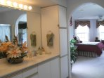 Master King Size BR suite with amazing adjoining bath. Separate Jacuzzi Tub and Walk-In Shower!
