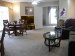Fabulous great room in Condo #2.  See our website ... MyLakeCondo(dot)com