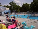 Olympic size resort pool.  Your family will love it!