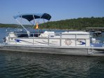 Rent this pontoon boat! It will be your best day!!!  Book your condo today!  (417) 581-fifteen 88.