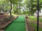 FREE mini-golf!