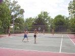 FREE tennis!  Equipment furnished!