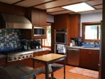 Chef's Kitchen with Ranch and Vinyard views